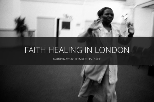Faith Healing in London by Thaddeus Pope